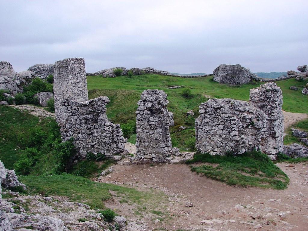 Olsztyn, ruins of the castle