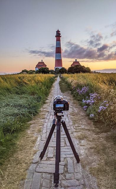 Lighthouse Westerheversand - behind the scenes