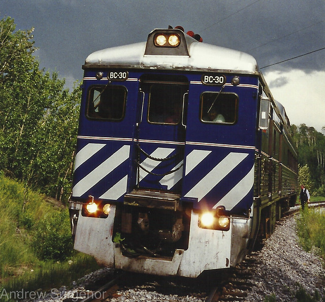 BC Rail Budd RDC