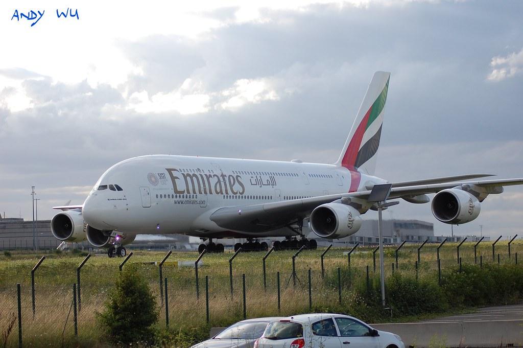 Airbus A380 Emirates (07/30/2021)