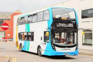 Stagecoach Cumbria & North Lancashire 11158, YX68 UXJ (ADL E40D / Enviro400 MMC)