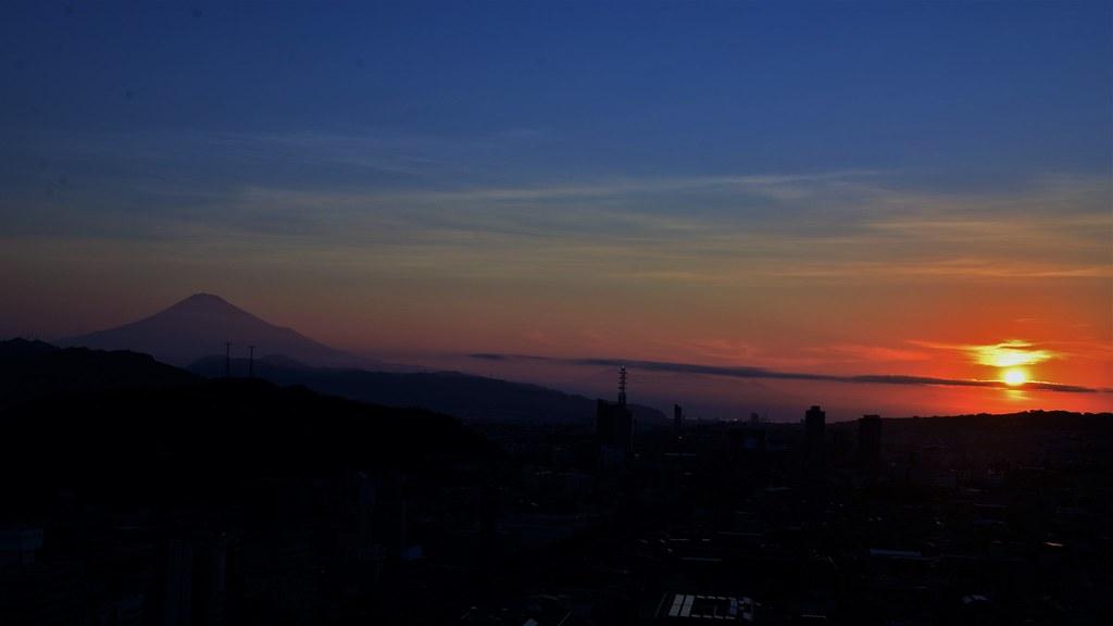 ✪早暁富士➁ -静岡市-
