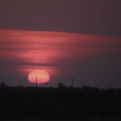 Oklahoma prairie sunrise