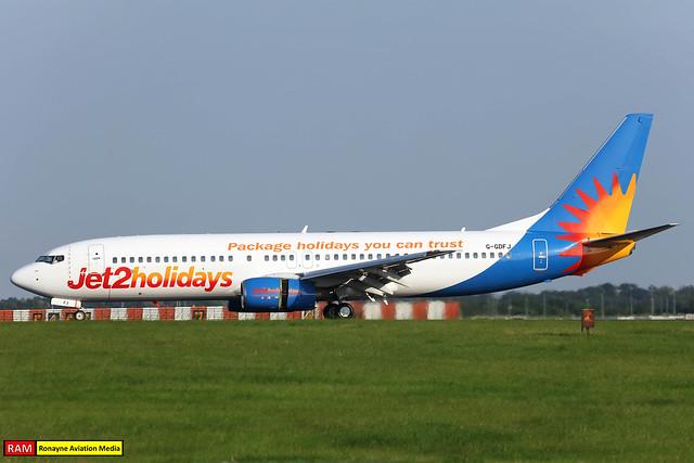 G-GDFJ   Boeing 737-804   Jet2