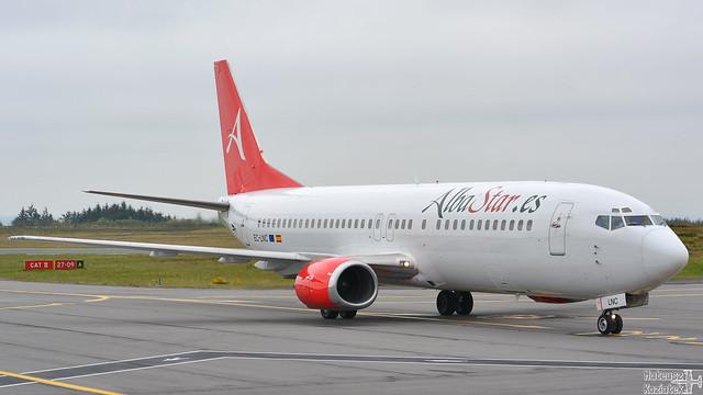 AlbaStar Airline 🇪🇸 Boeing 737-400 EC-LNC