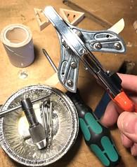 Modifying moulding shears