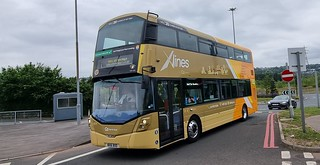 Go North East Wright StreetDeck X Lines X5/X15 NK16 BXD seen here arriving at Metrocentre Rally 2021