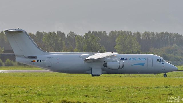 ASL Airlines Spain 🇪🇸 British Aerospace 146-300(QT) EC-LMR
