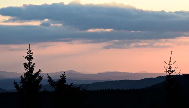 Abend auf dem Großen Finsterberg