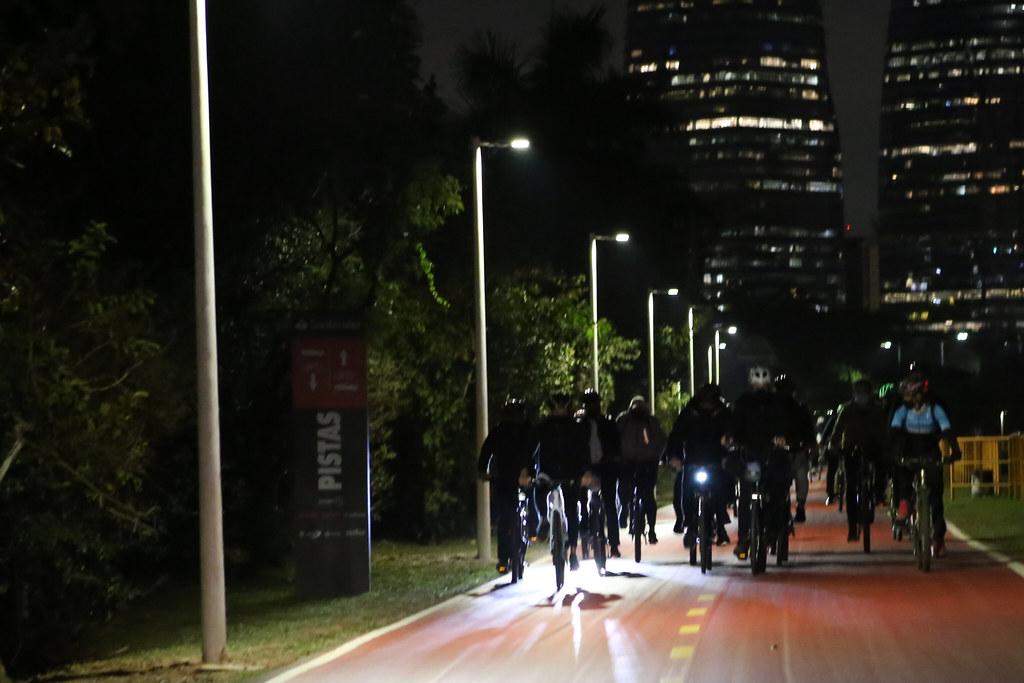 2° FASE DA INAUGURAÇÃO DA CICLOVIA MARGINAL PINHEIROS