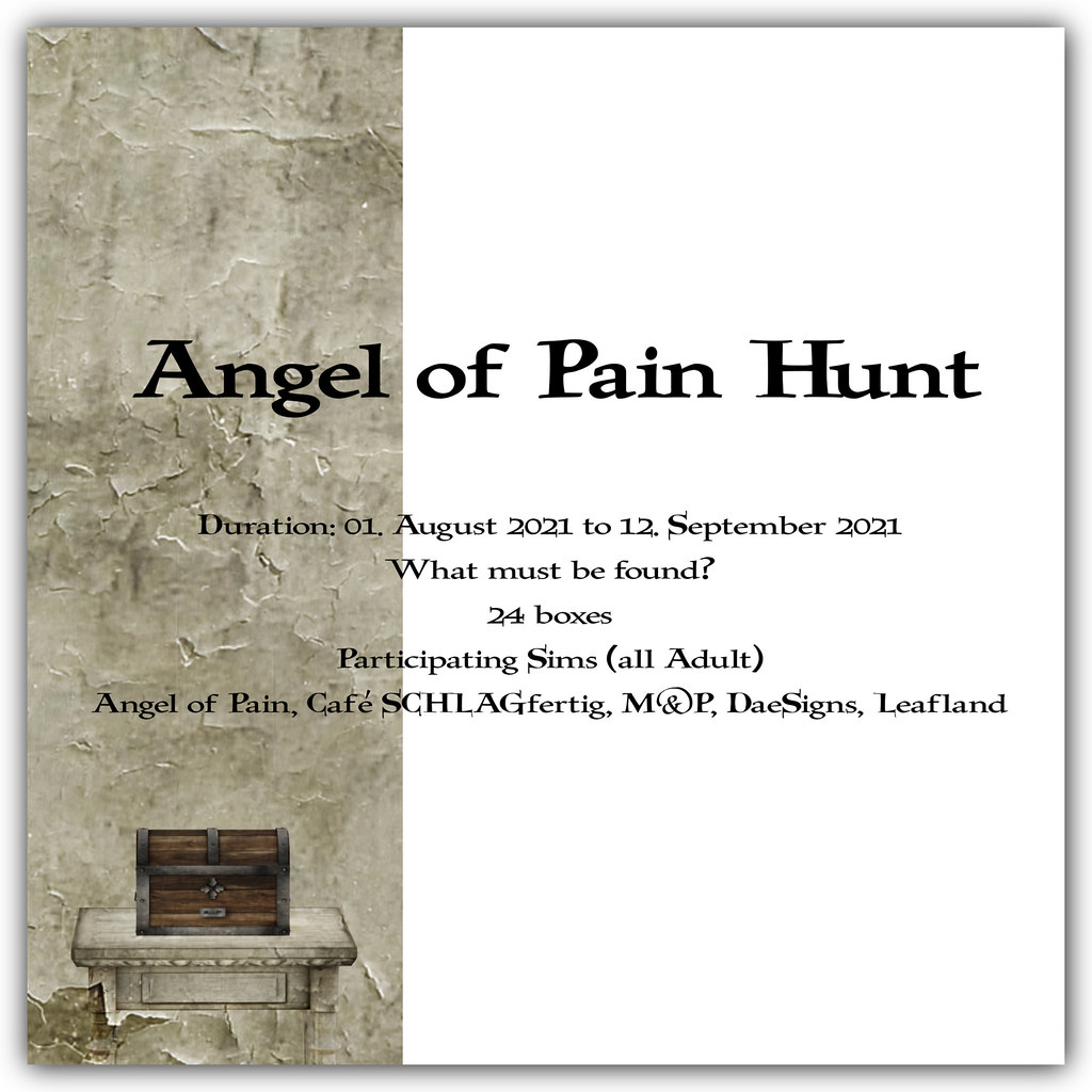 Angel of Pain Hunt August 2021