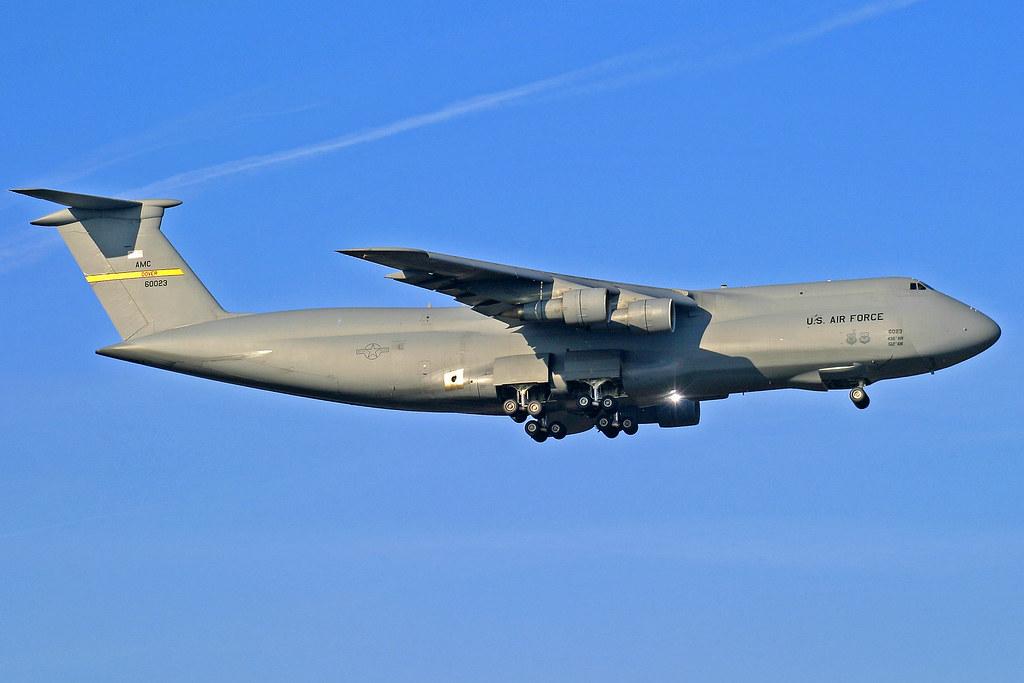 United States Air Force Lockheed C-5B Galaxy 86-0023 FRA 09-12-04