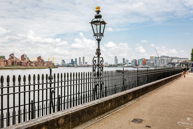 Greenwich arrival...