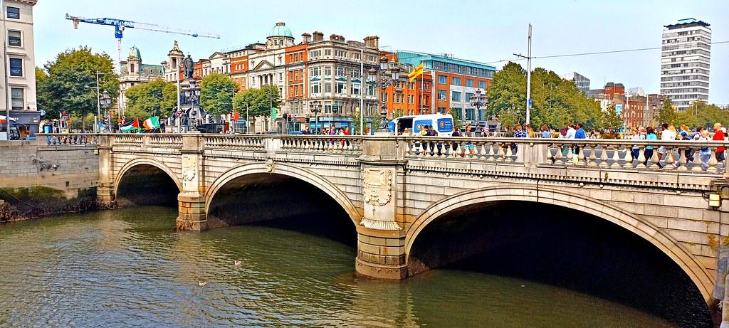 O'Connell bridge.