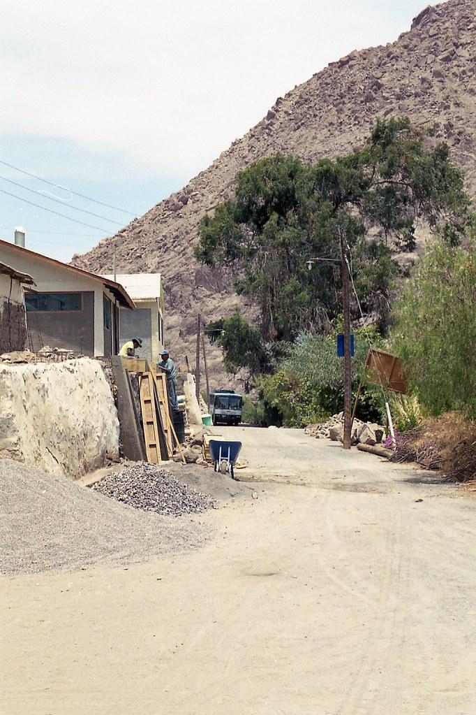 CHILE NORTE-2003 / Interior de Arica