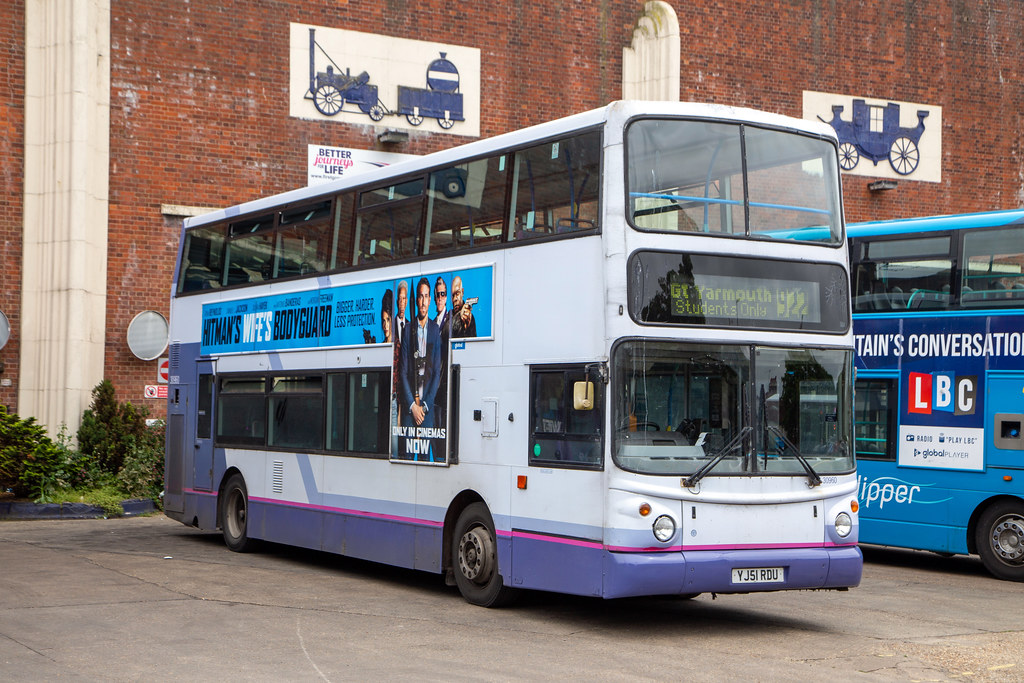 First Eastern Counties 30960, Great Yarmouth, June 2021