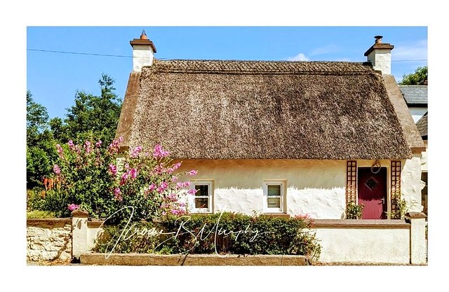 Glimpses of Ireland - Thatch Cottage, Waterford.