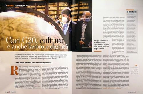 """ROMA 2021: ROMA & G20 - Rivive L`Urbe Antica Anche Grazie 'Al Duce, 1933' & Draghi e Franceshini, 2023': """"Se Uno Ascolta Tropp Gli esperto...""""; in: Mi Riconosci? Sono un professionista dei beni culturali & Margherita Corrado / Facebook (30/07/2021)."""