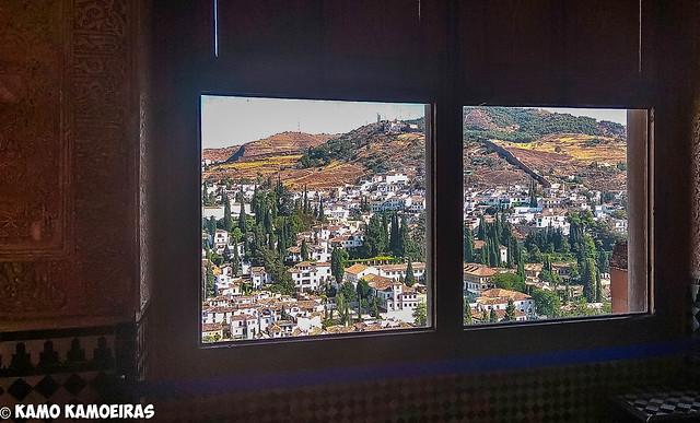 Ventanal, LaAlhambra, Granada