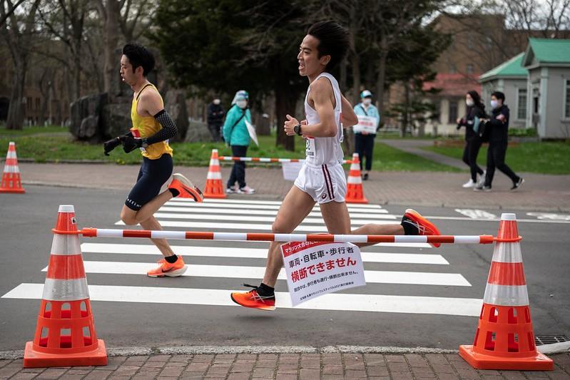 東京奧運馬拉松測試賽【AFP授權】