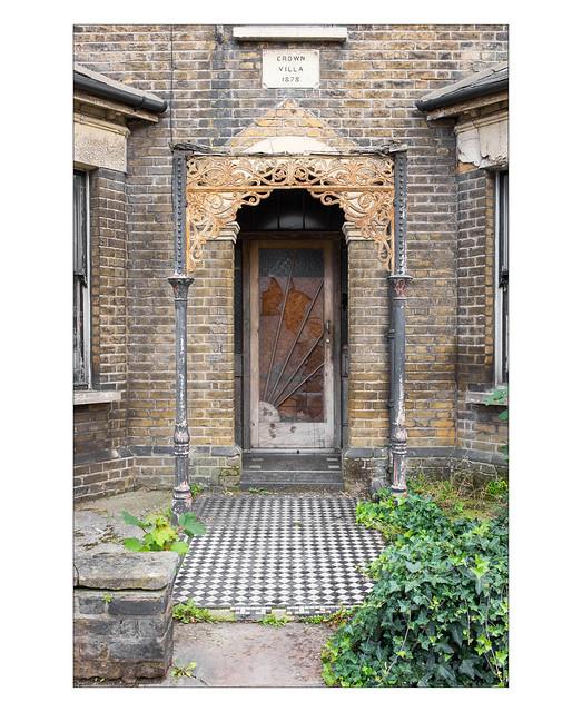 Undisturbed Victorian splendour, East London, England.