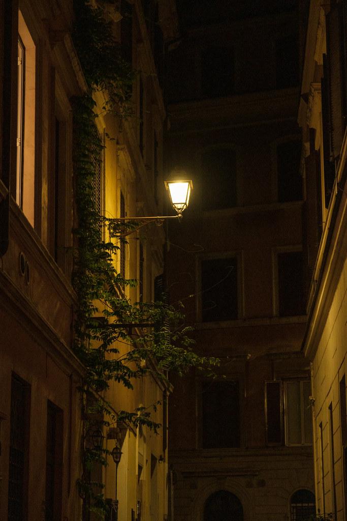 Small roman street