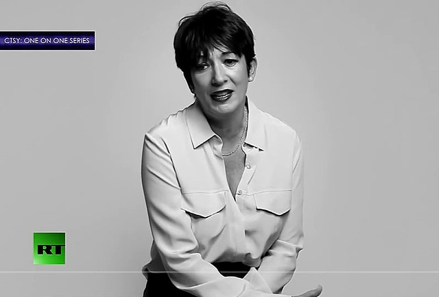 Chris Hedges and Nick Bryant: The Trial of Ghislaine Maxwell