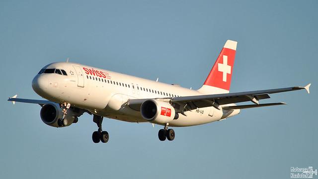 Swiss 🇨🇭 Airbus A320-200 HB-IJQ