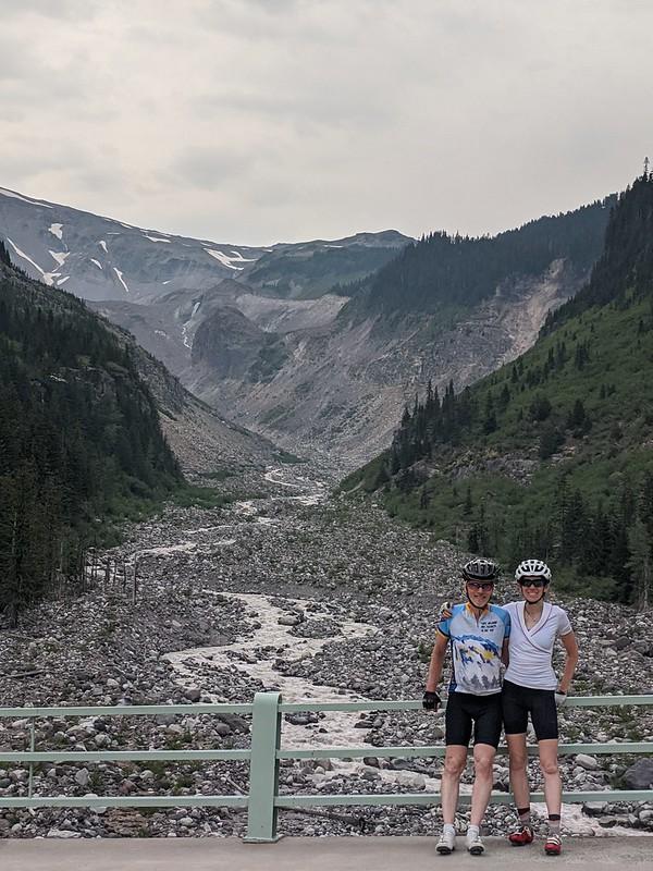 Katie & Dad at Mt. Rainier