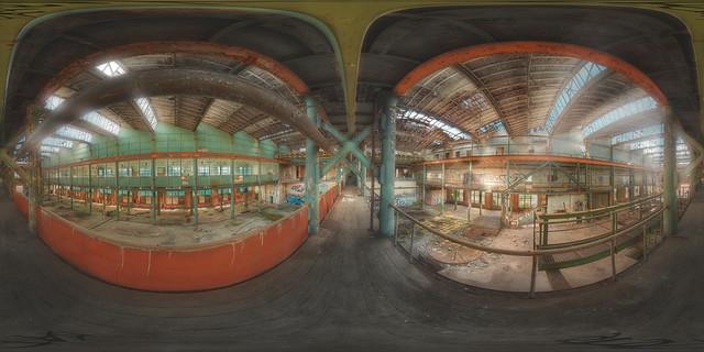 abandoned factory 360°
