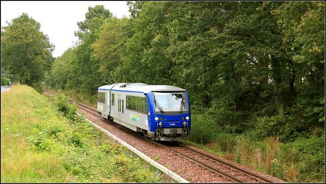 SNCF-REMI X74505 Le Blanc-Argent Gièvres 27072021