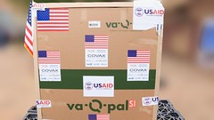The United States Delivers COVID-19 Vaccine Doses to Burkina Faso