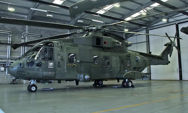 AgustaWestland AW101 Merlin HC.3i ZJ137/W [50195]