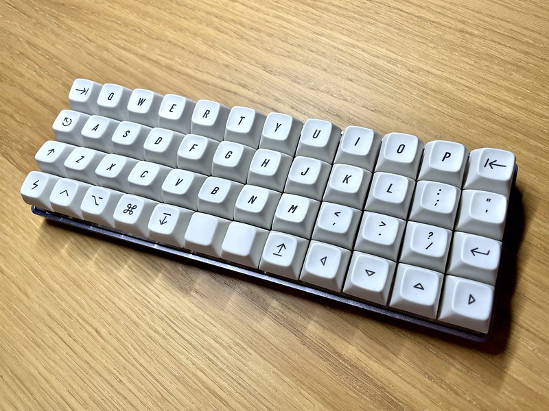 Drop + OLKB Planck with Drop Extended 2048 keycaps