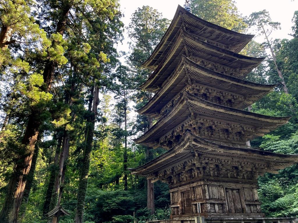 Five-Story Pagoda Of Mount Haguro #2