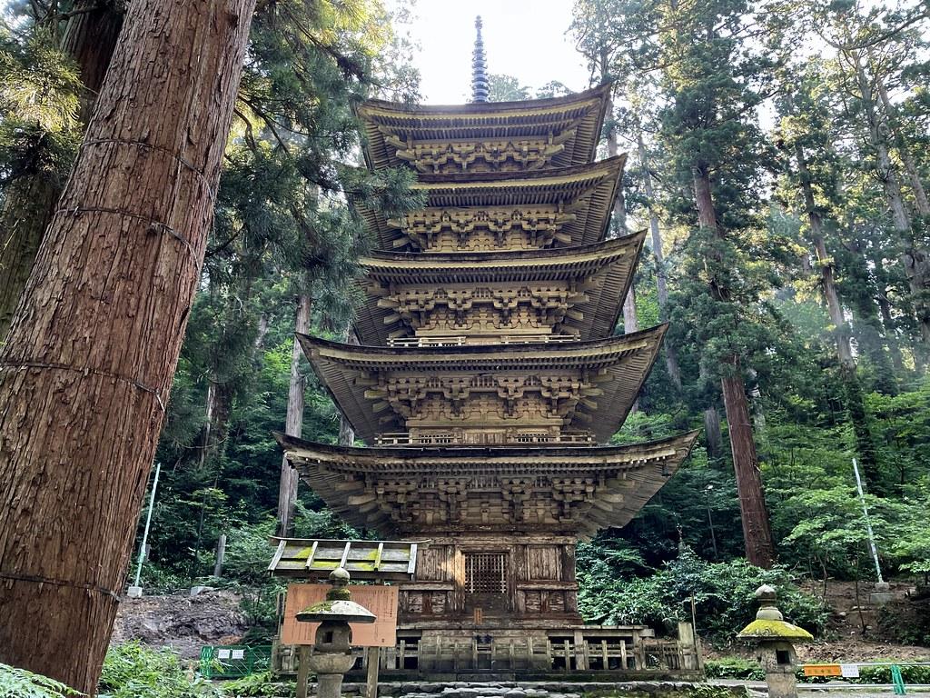 202107Five-Story Pagoda Of Mount Haguro #1 25_08