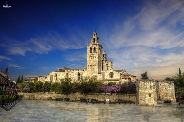 Monasterio de Sant Cugat del Valles. Barcelona.