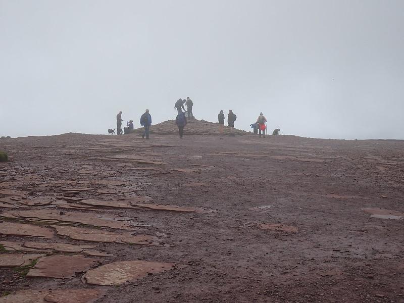 Pen y Fan (886 m) summit