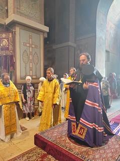 28.07.2021 | Литургия в Софийском соборе