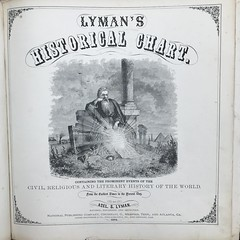 Title page to Azel S. Lyman (1874) Lymanu2019s Historical Chart