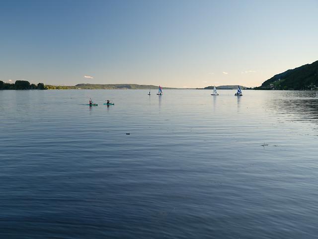 Biel – Evening at the lake