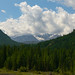 Mountain Scene in Republic of Altai, Russia / Горы в Горно-Алтай