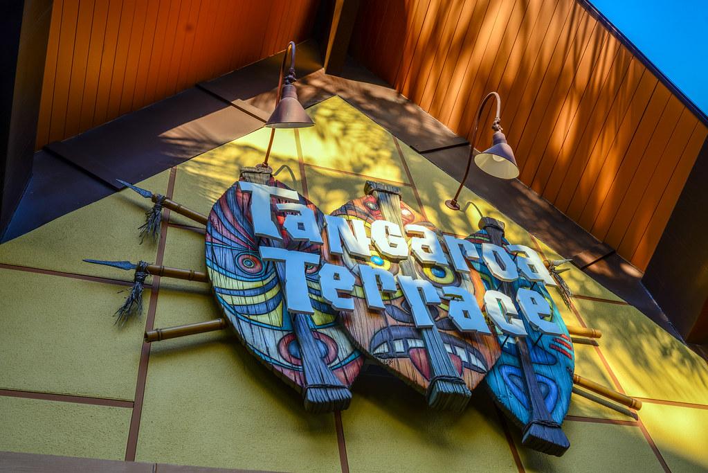 Tangaroa Terrace sign