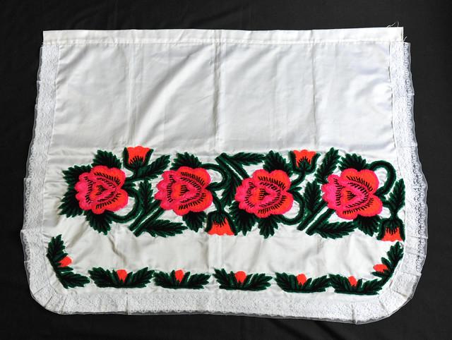 Mexico Apron Delantal Purepecha Michoacan Textiles