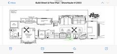 2021 ShowHauler 45u2019 Triple Slide 600HP Motorhome