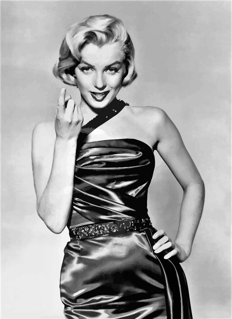 Marilyn Monroe fotografiada para la promoción de Cómo casarse con un millonario (1953), realizada por John Florea