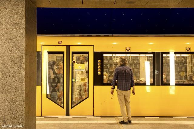 Die neue U5 in Berlin an der Museumsinsel.