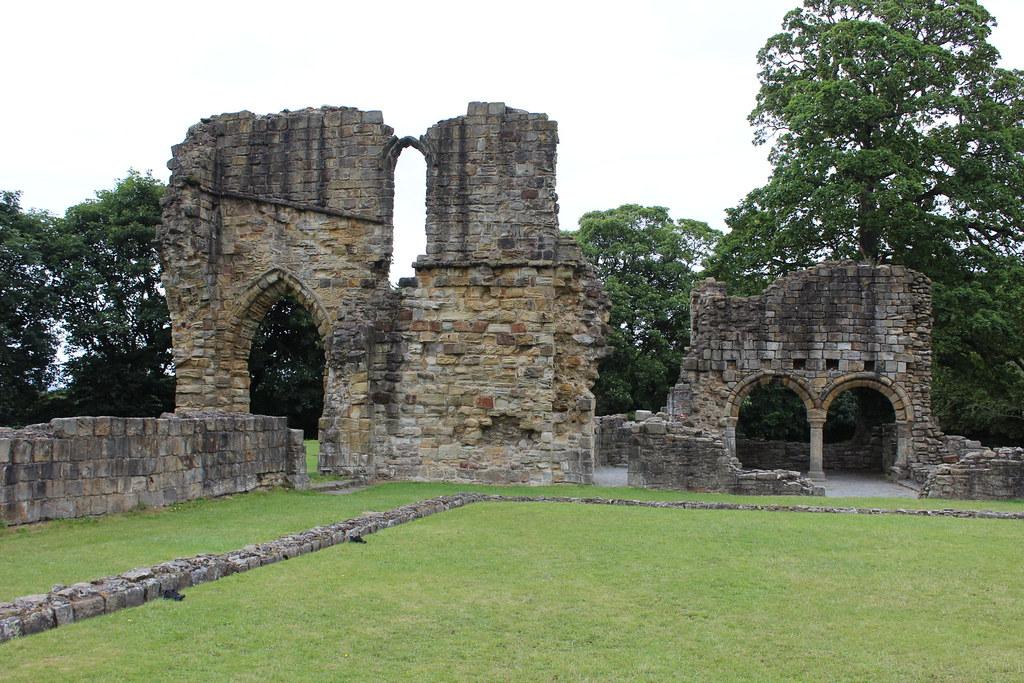 Ruins of Basingwerk Abbey at Greenfield