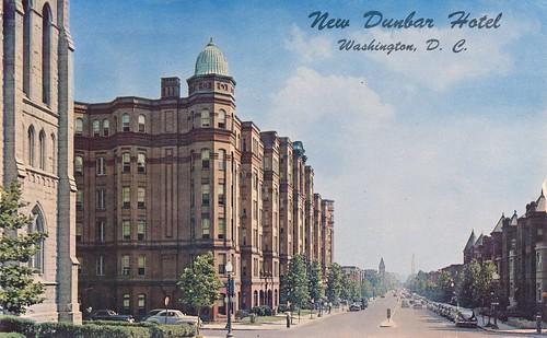 dunbarhotel portner postcards apartments washingtondc ustreet