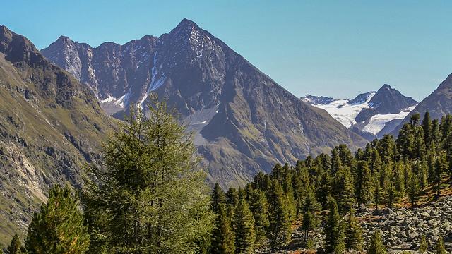 Huts view